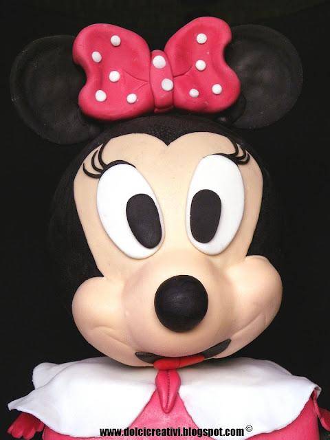 Torta Minnie 3d