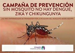 Campaña Prevención del Dengue