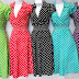 Plus length 1950's attire