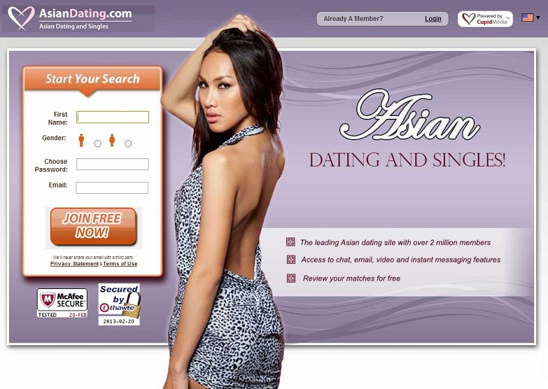 top asian dating sites 2013
