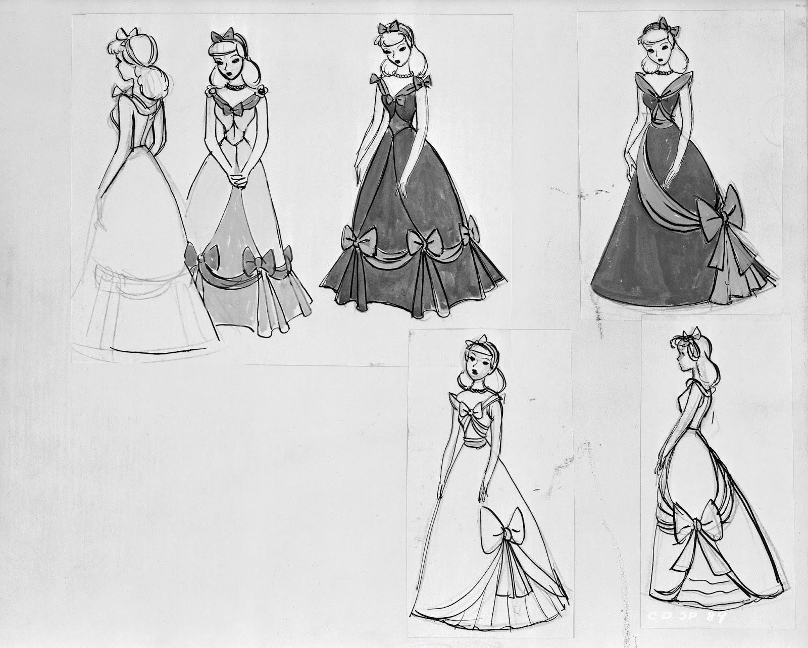 Character Design Disney Pdf : Deja view designing cinderella