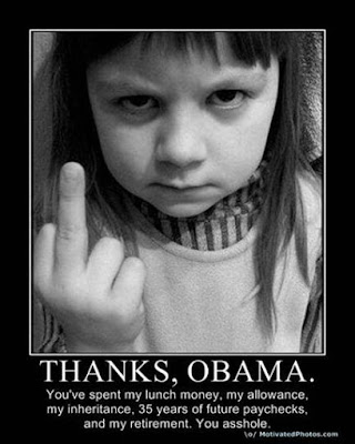 Obama thanks Funny Pictures: Obama Bumper Stickers, Signs & Jokes