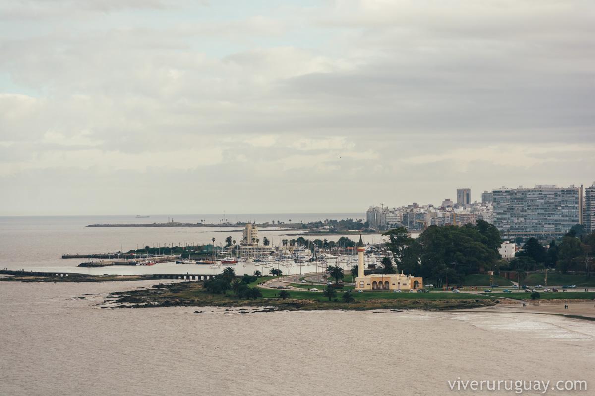 Montevidéu no inverno