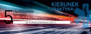 V Ogólopolski Kongres Ratowników Medycznych Kraków 2017