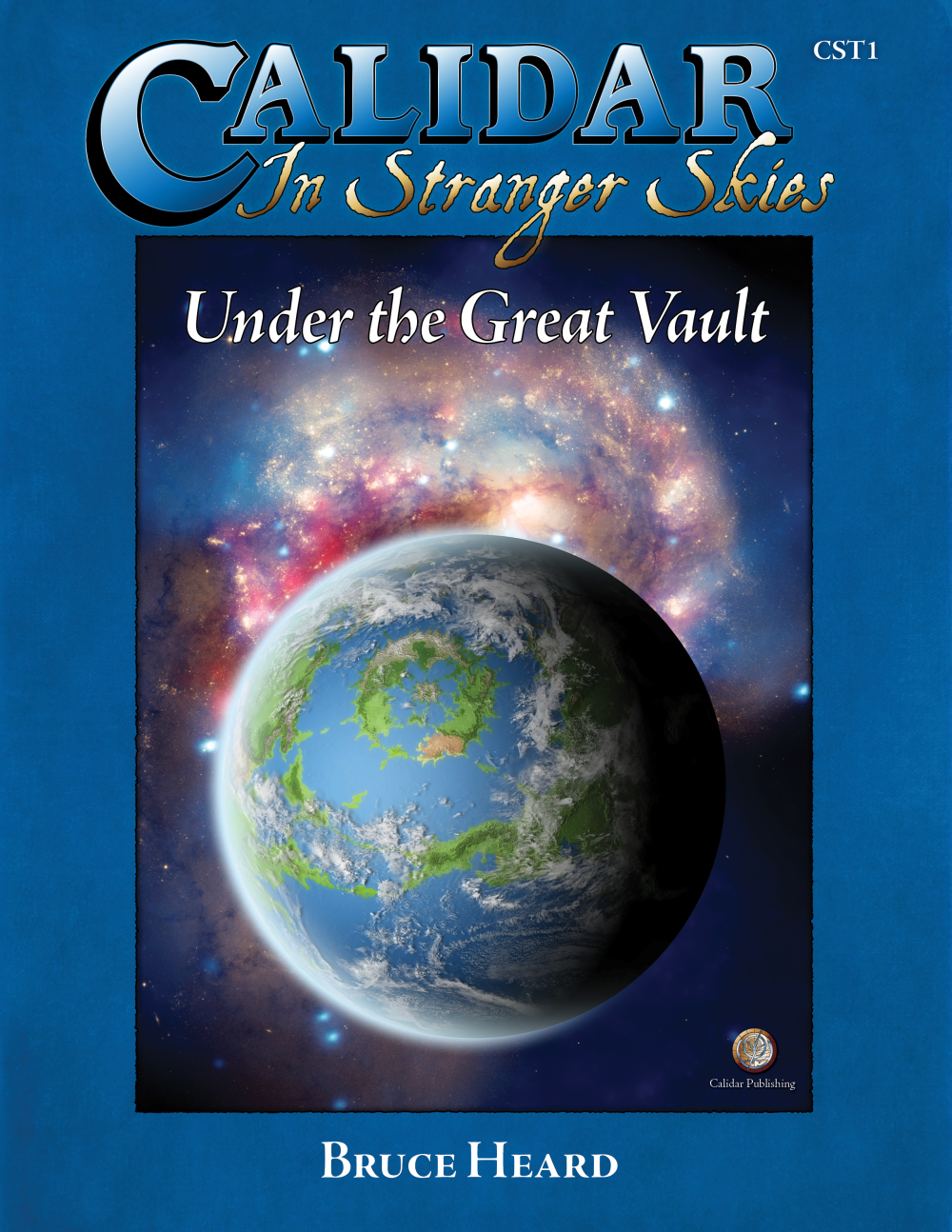 Calidar In Stranger Skies, Under the Great Vault short stories cover