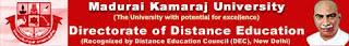 Madurai Kamaraj University Results 2014 www.mkudde.org MKU MBA B.Com Distance Education