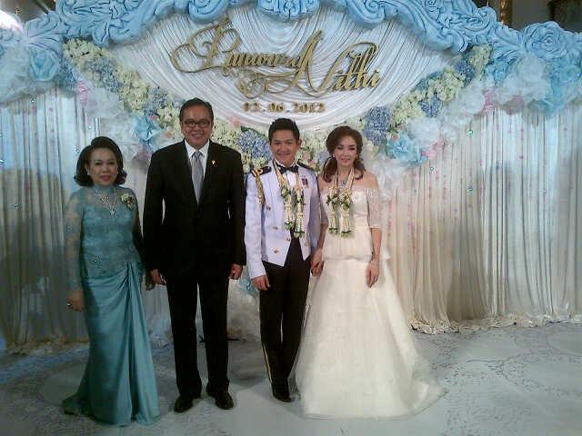 Foto perkahwinan anak perdana menteri 18