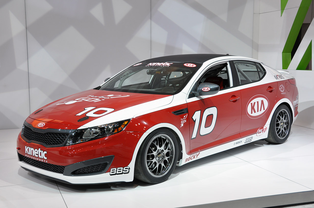 race car kia optima turbo sx kinetic. Black Bedroom Furniture Sets. Home Design Ideas