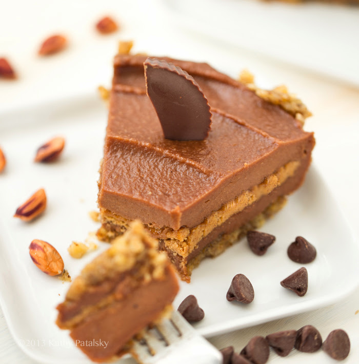 Peanut Butter Cup Pie. (Or Almond Butter Cup.) No-Bake ...