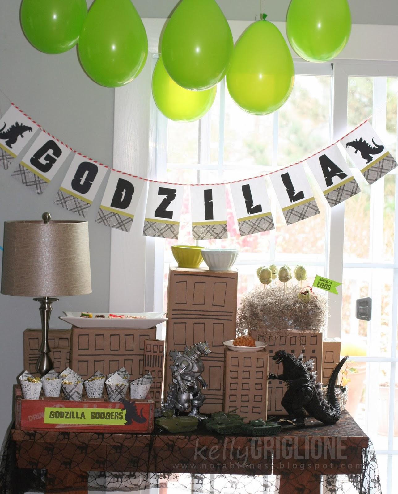 Notable Nest: Happy Belated Birthday, Tracey!! + Godzilla