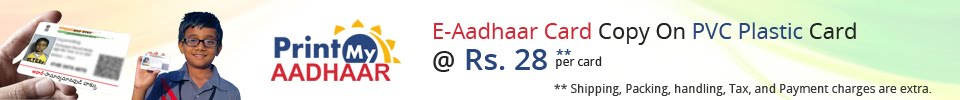 Print My Aadhaar
