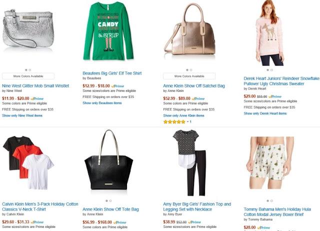 Holiday 2015 Amazon Fashion