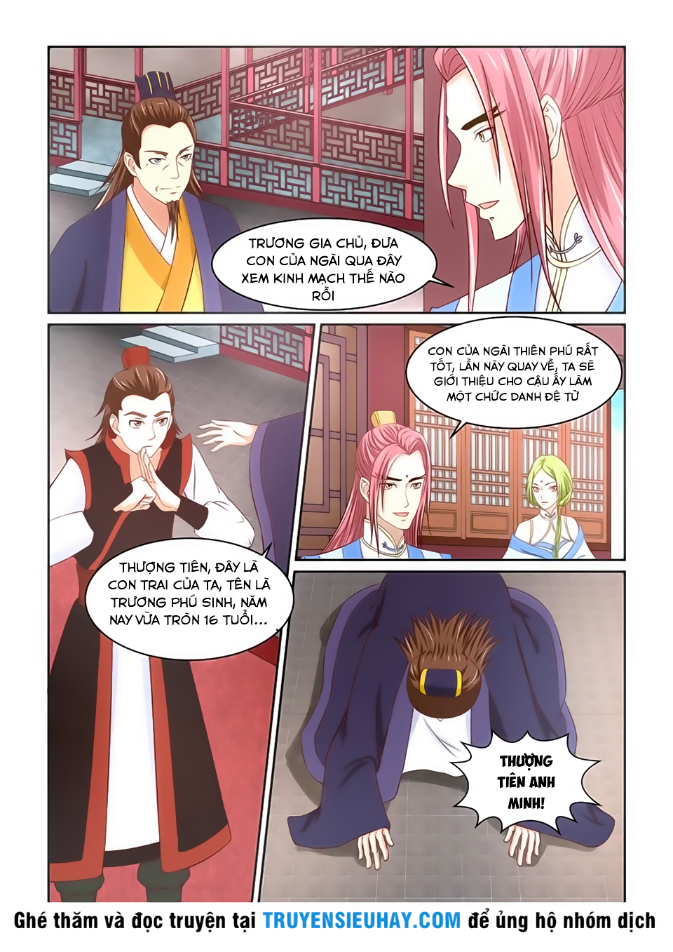 Tiên Trụ chap 5 - Trang 7