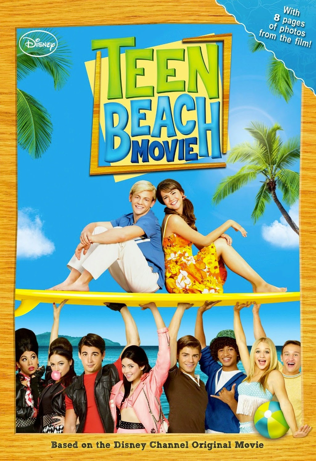 Disney s teen beach movie dvd review