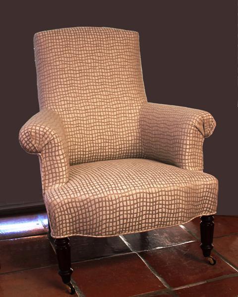 l 39 atelier de marjorie alais fauteuil anglais. Black Bedroom Furniture Sets. Home Design Ideas