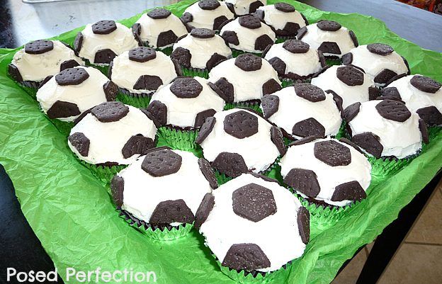 How To Decorate A Soccer Ball Cake Mesmerizing Posed Perfection Soccer Ball Cupcakes Design Inspiration