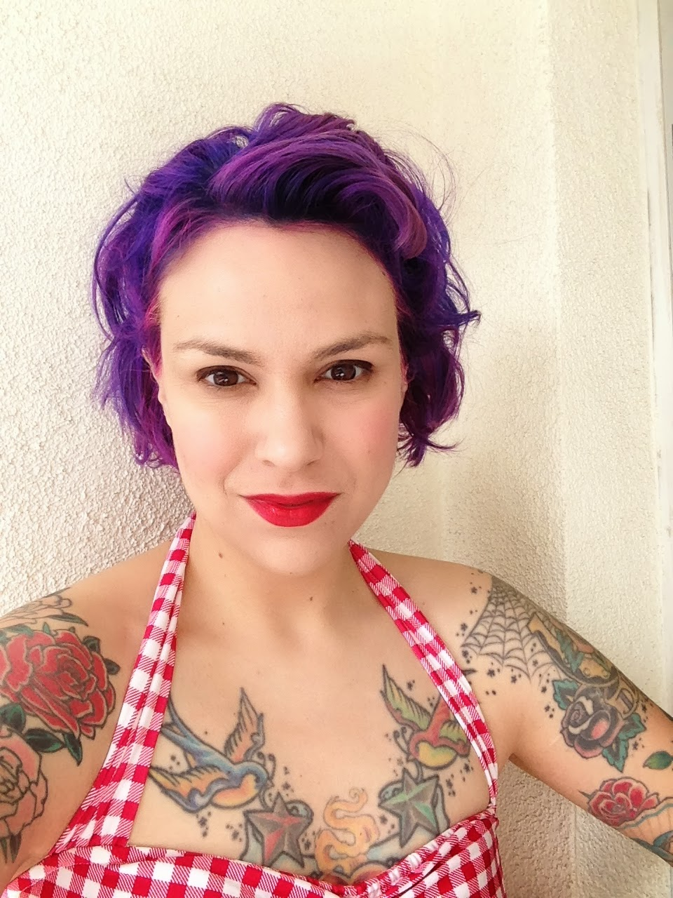 Gerties New Blog For Better Sewing Palm Springs Purple Hair