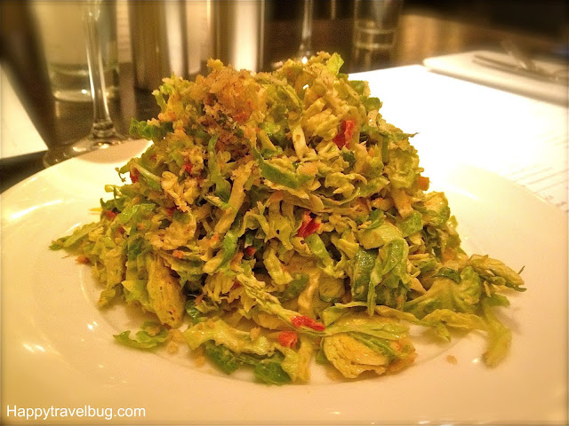 Shredded Brussels Sprouts Salad at RPM