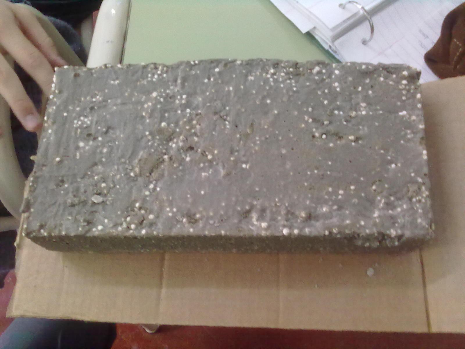 Telgopor Con Cemento Modelo de Cemento y Telgopor