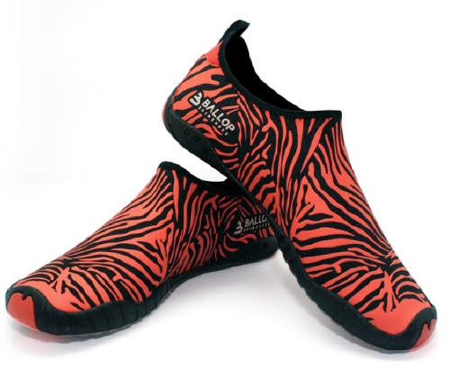 Ballop Skin Shoes V2_Zebra (Red)