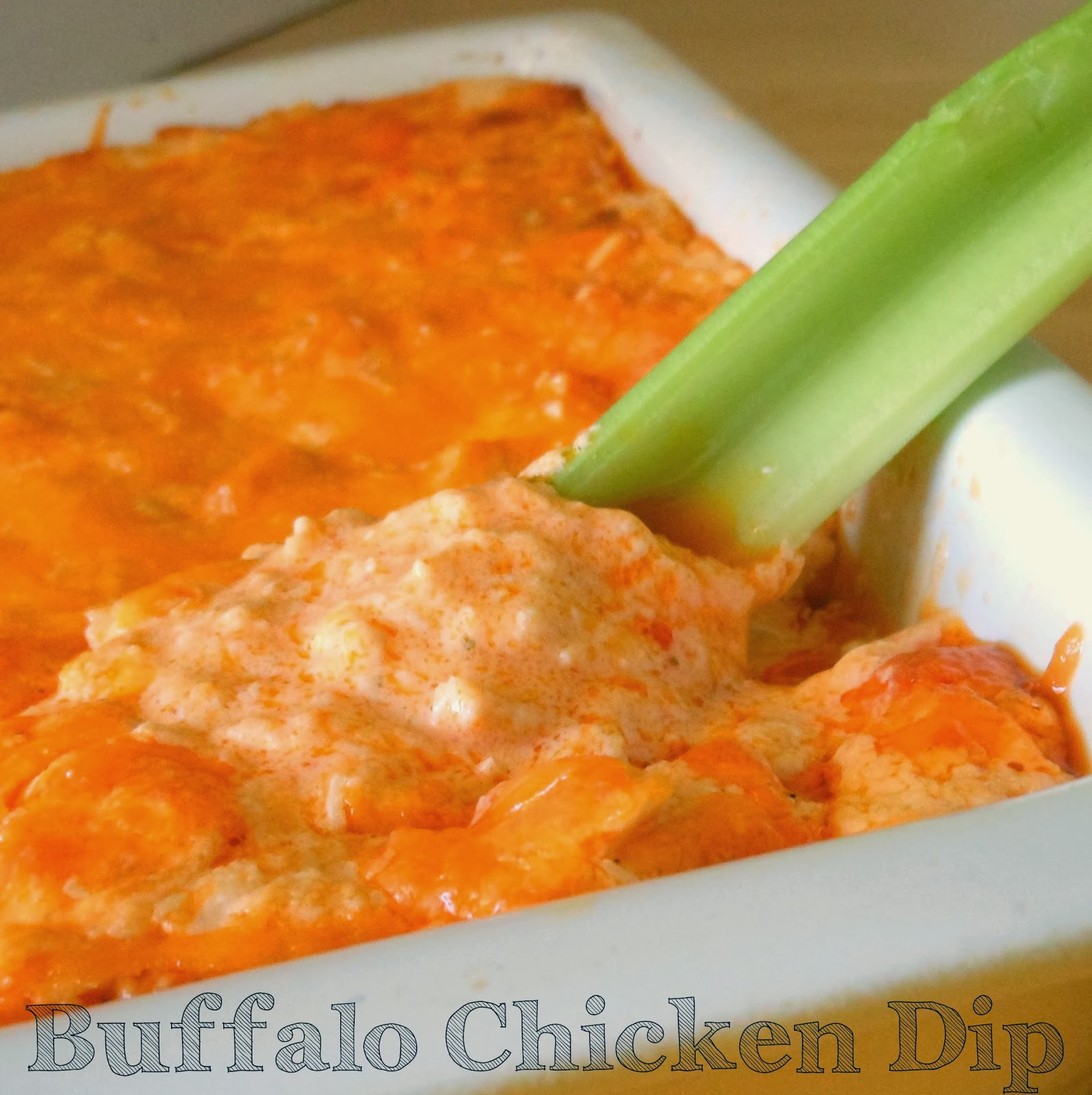 Franks red hot Buffalo chicken dip. I cannot get enough of this dip!