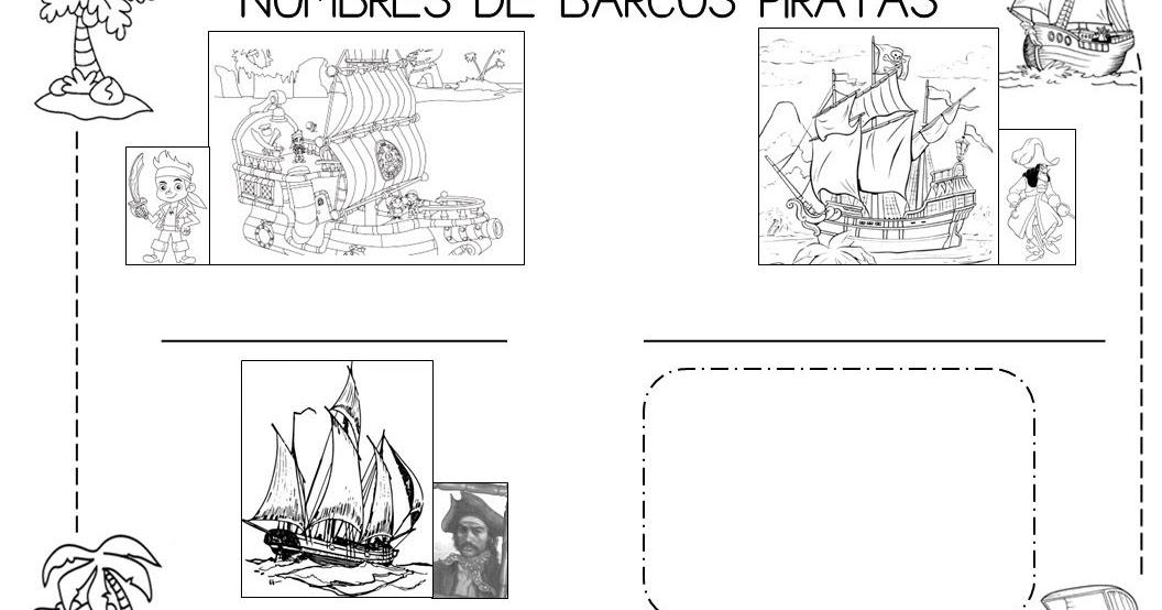 Mi grimorio escolar: NOMBRES DE BARCOS PIRATAS