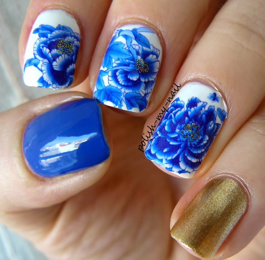 Porcelain nail art choice image nail art and nail design ideas born pretty store blog march nail art designs show use the nail art product flower patterns prinsesfo Image collections