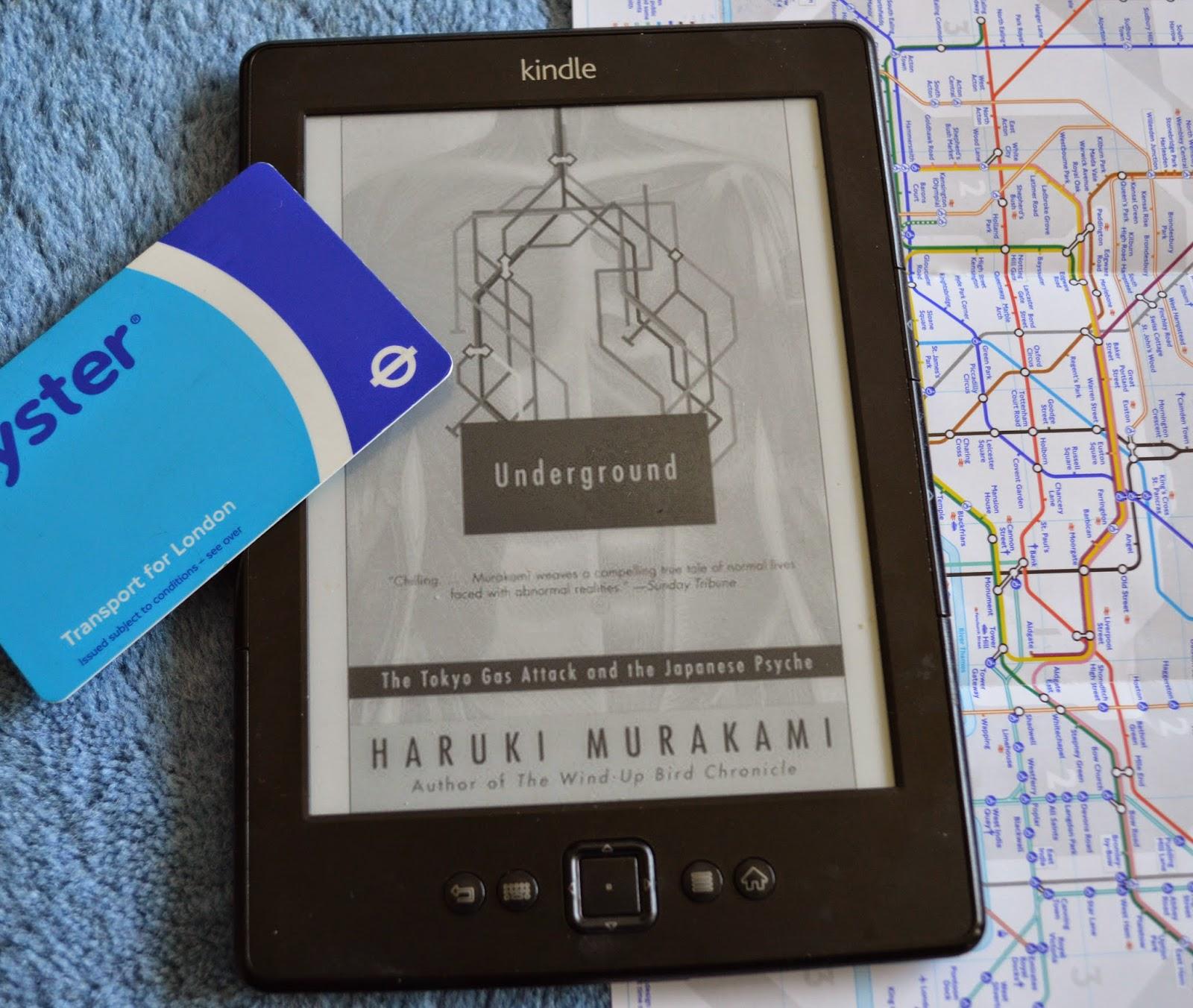 kindle, Haruki Murakami, Underground, Aum Shrinikyo, Tokyo, 1995, subway attack, sarin gas, book review, investigative journalism, non-fiction, personal response