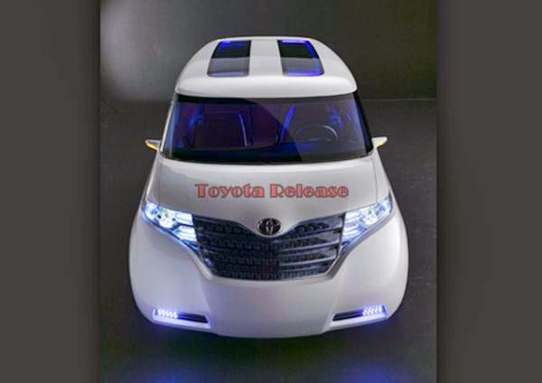 Toyota F3R Concept Car Space
