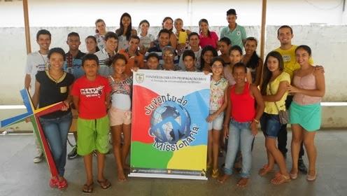 Juventude Missionária agora em Junqueiro (AL)