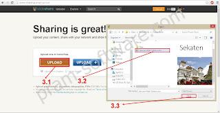 Memilih Presentasi, dokumen, infograph untuk di upload di slideshare