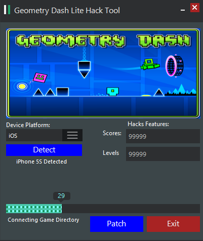Geometry Dash Lite Hack Tool - Coins Kit - Free Hack