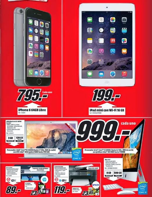 Productos Apple Media Markt 1-2015