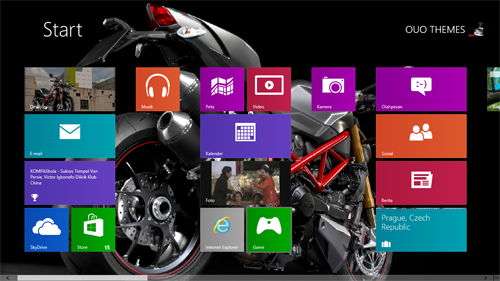 Ducati Streetfighter S Theme For Windows 7 And 8