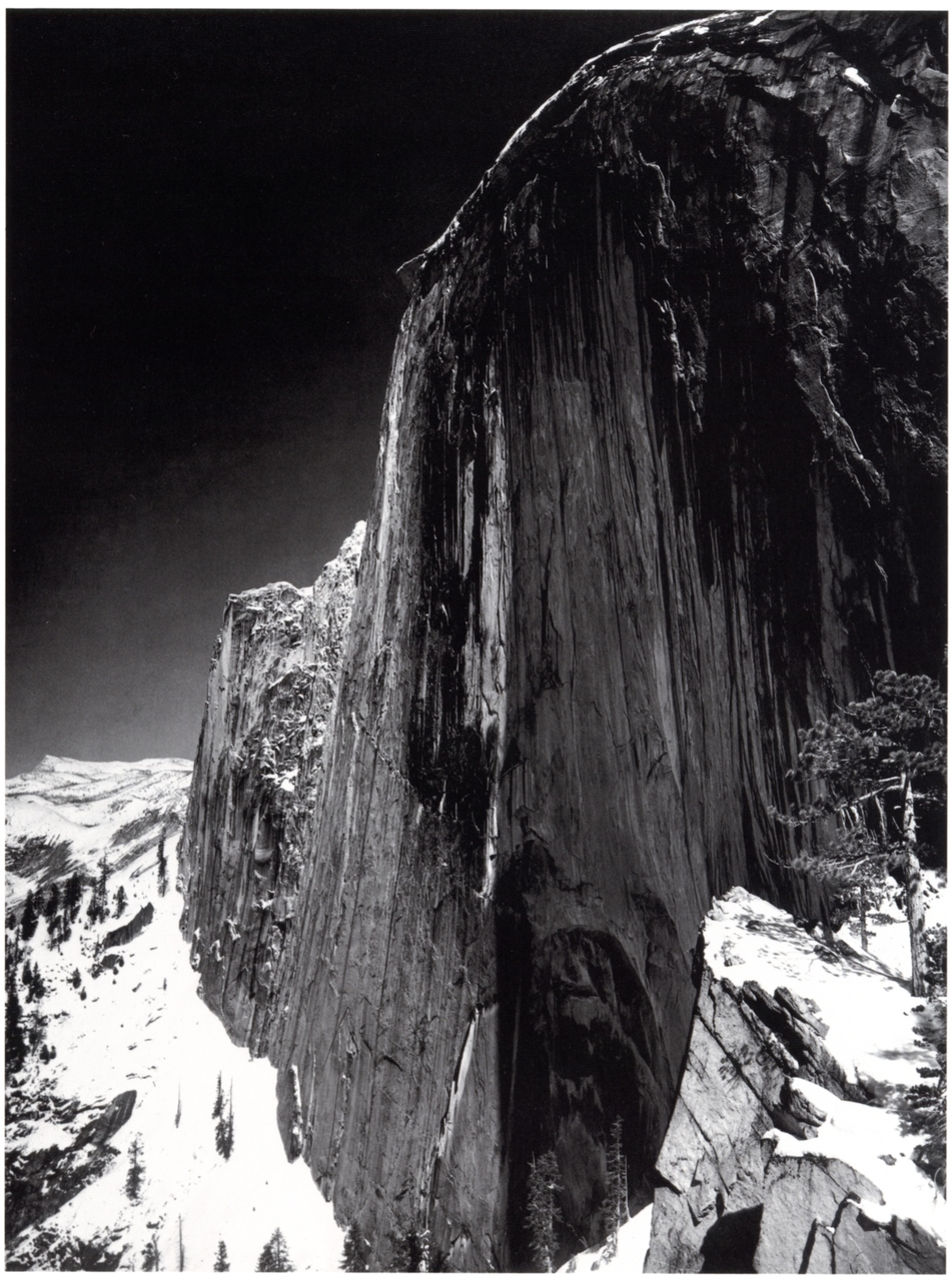 1927. Monolith, The Face of Half Dome. Ansel Adams
