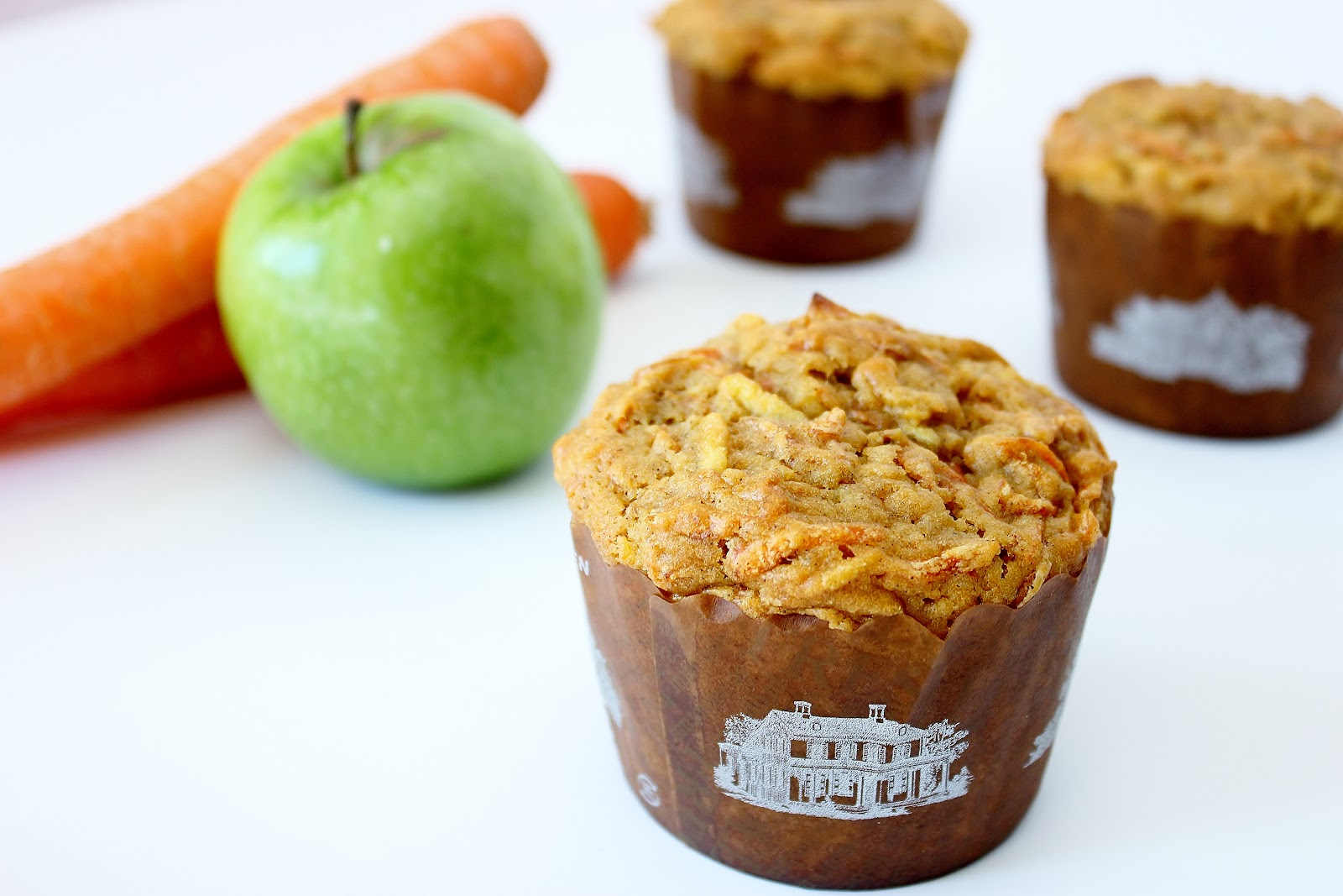 Sweet Frosting: Caramel Carrot Muffins