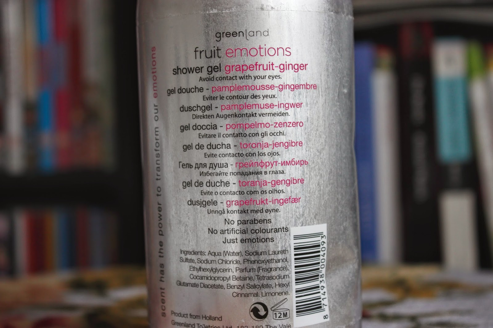Picture of Greenland Fruit Emotions Shower Gel in Grapefruit-Ginger