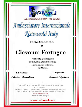 Ambasciatore Internazionale Ristoworld Italy