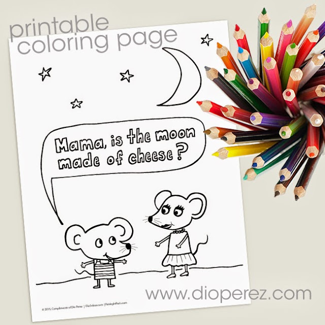 Free Printable Coloring Page by Paisley In Paris™