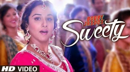 Sweety - Bobby Jasoos (2014) HD Music Video Watch Online