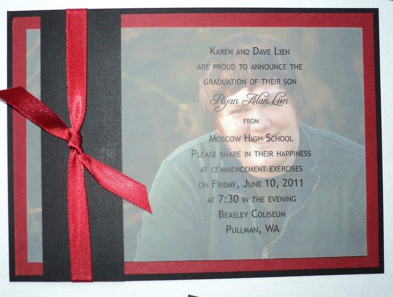 DIY High School Graduation Announcements wedding invitation ideas