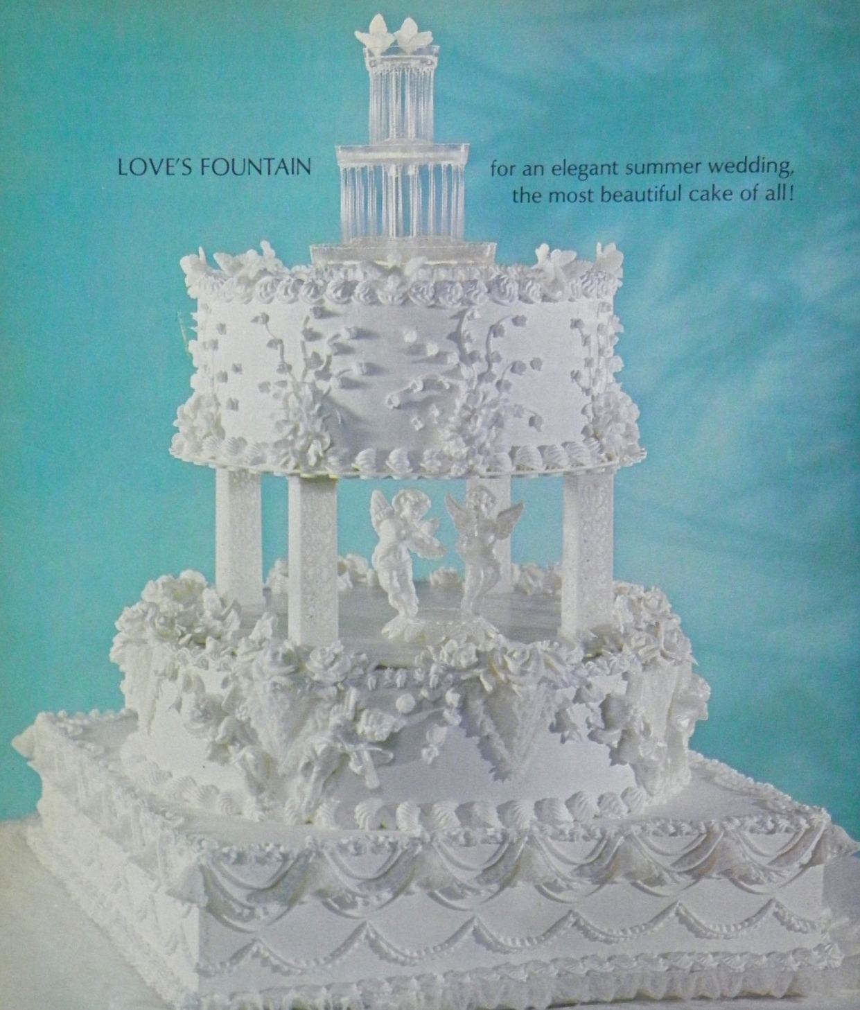 & Good Things by David: Vintage Wilton Wedding Cakes