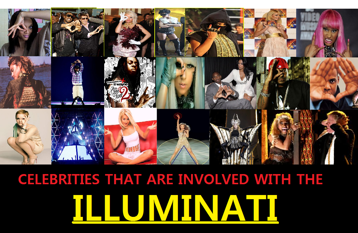 Top 10 Celebrities That are Supposedly in the Illuminati ...