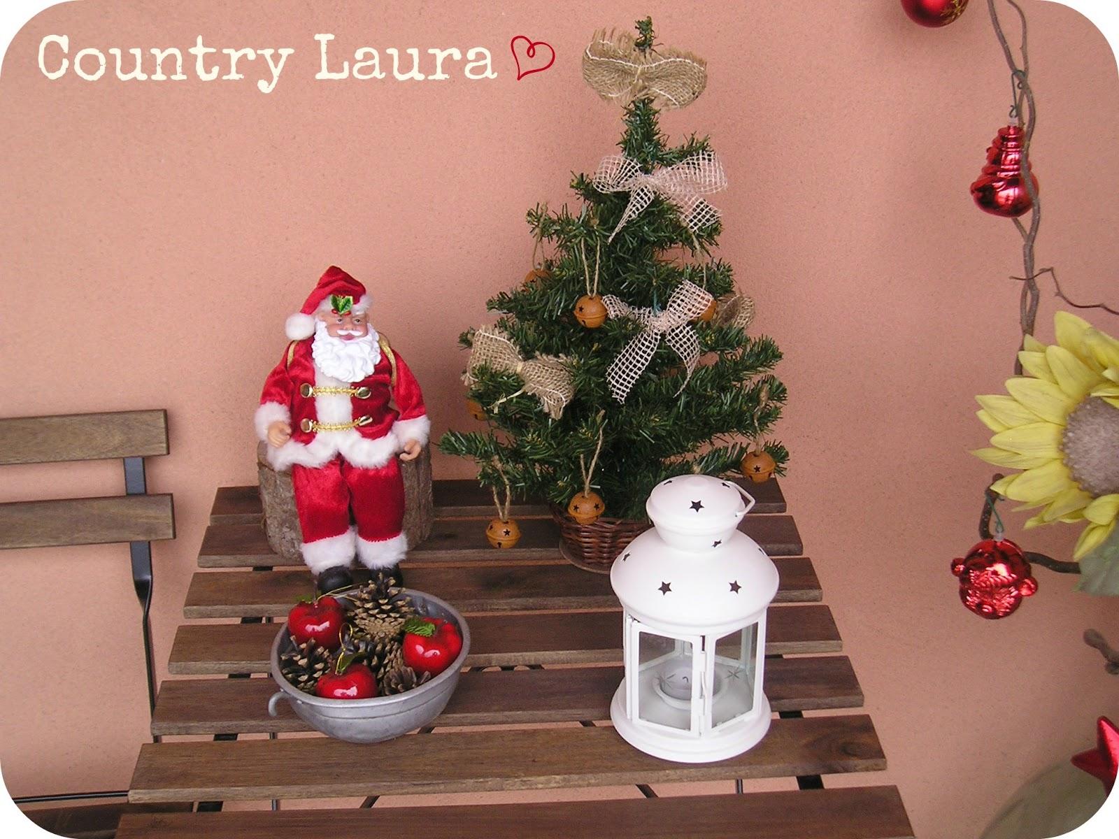 Country laura addobbi natalizi esterni - Addobbi natalizi per esterno ...