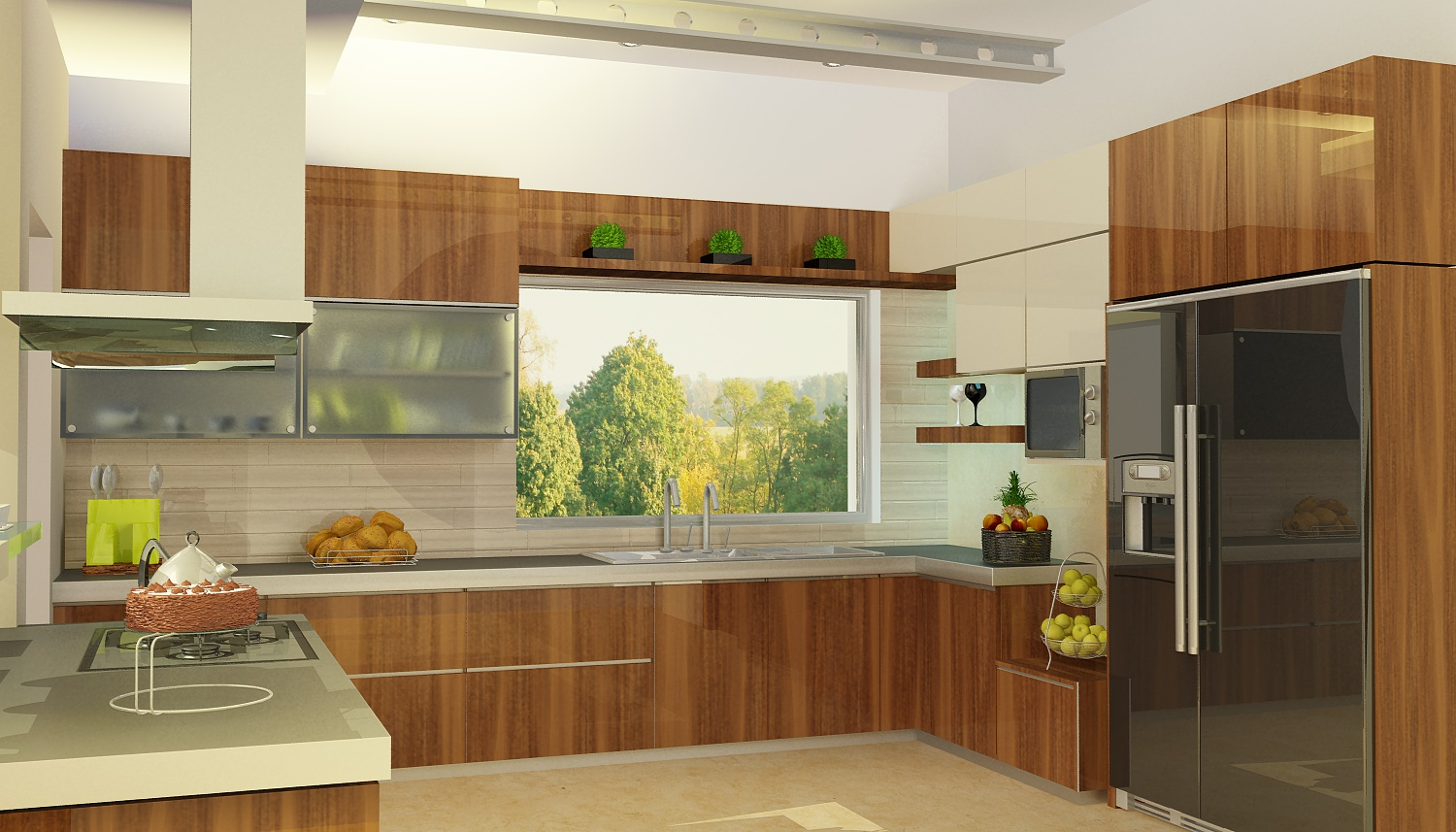 3D Interior Design Kitchen