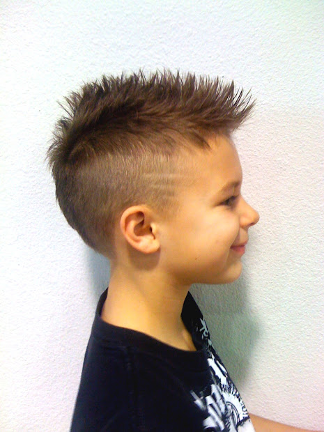 lightning bolt haircuts little