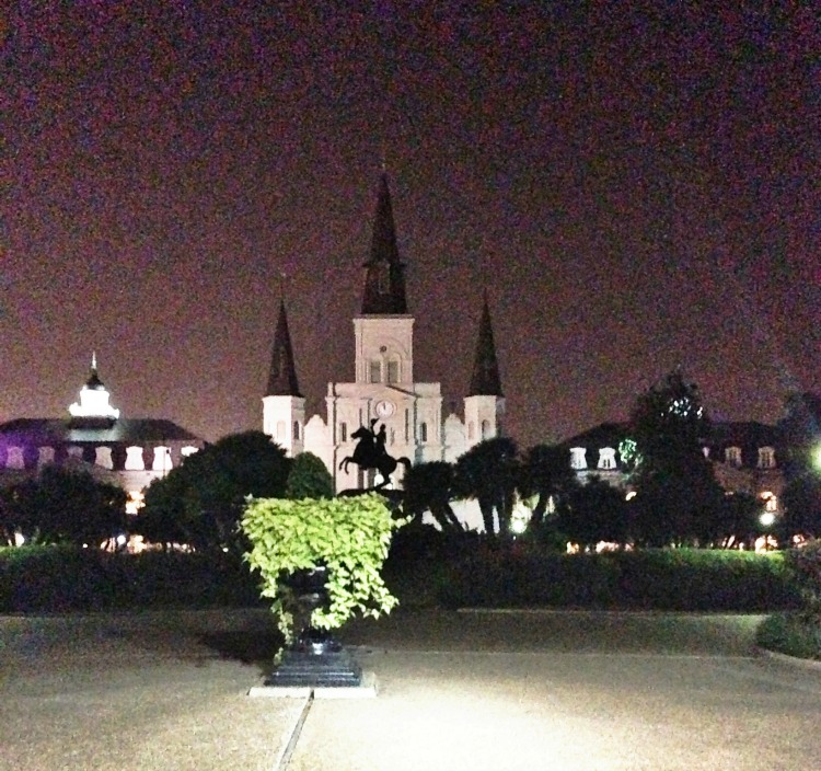new orleans st louis cathedral jackson square