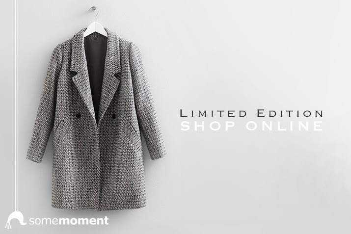 Aliya A - Somemoment Coat, Zara Scarf - Tweed Boyfriend Coat ...