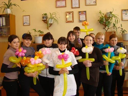 подарки девочкам на 8 марта в школе 4 класс
