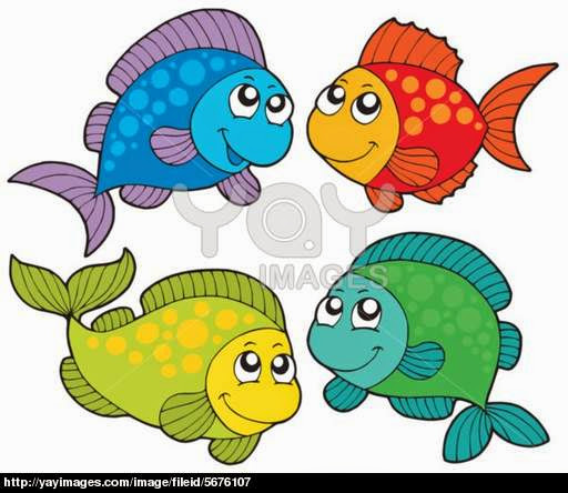 Tropical Fish Tank Coloring Pages